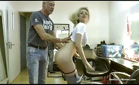 Two cocks for Chessie Kay
